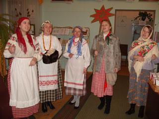 Видеолекция «Русские святки»