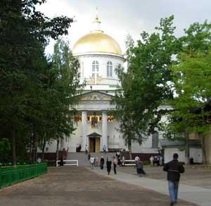 Михайловский собор Псково-Печерского монастыря