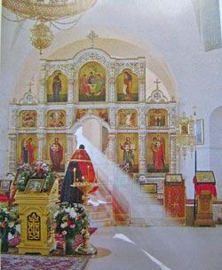 Литургия в Свято-Троицком соборе